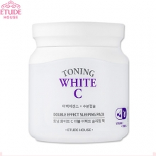 ETUDE HOUSE Toning White C Double Effect Sleeping Pack 100ml, ETUDE HOUSE