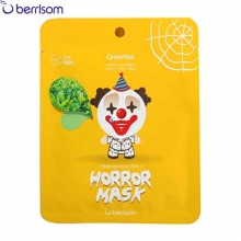BERRISOM Horror Mask 25ml [Black rice, Green tea], Berrisom