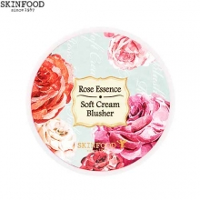 SKINFOOD Rose Essence Soft Cream Blusher 3.5g, Skinfood