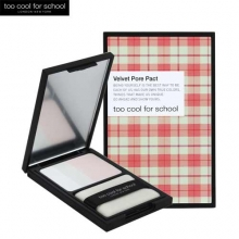 TOO COOL FOR SCHOOL Check Velvet Pore Pact 7g, TOO COOL FOR SCHOOL