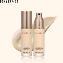 PONY EFFECT Seamless Foundation 30ml, MEME BOX