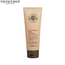 THE FACE SHOP Acne Solution Foam Cleansing 150ml, THE FACE SHOP