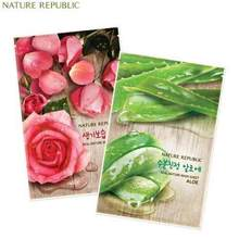 NATURE REPUBLIC Real Nature Mask Sheet 23ml, NATURE REPUBLIC