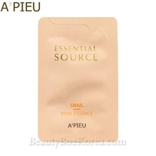 [mini] A'PIEU Essential Source Snail Vital Essence 1ml*10ea