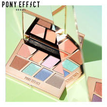 PONY EFFECT Master Eye Palette 8colors [Pastel Master], PONY EFFECT