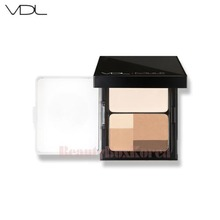 VDL Mule Contour Finish Palette Highlighting Powder 10g + Shading Powder 9g, VDL