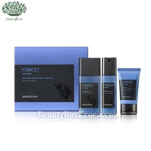 INNISFREE Forest For Men Moisture Set 3 Items [2017 NEW], INNISFREE
