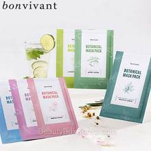 BONVIVANT Botanical Mask Pack 20ml*5ea,BONVIVANT,Beauty Box Korea