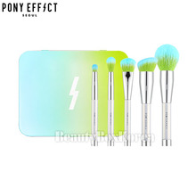 PONY EFFECT Mini Magnetic Brush Set #Prism Effect [Limited], PONY EFFECT