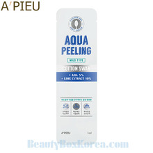 A'PIEU Aqua Peeling Cotton Swab Mild Type 3ml,A'Pieu,Beauty Box Korea