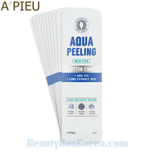 A'PIEU Aqua Peeling Cotton Swab Mild Type 3ml*10ea,A'Pieu,Beauty Box Korea