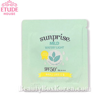 [mini]ETUDE HOUSE Sunprise Mild Watery Light SPF 50+PA+++ 1ml*10ea