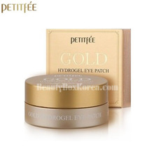 PETITFEE Gold Hydrogel Eye Patch 24K 1.4g*60ea,Beauty Box Korea