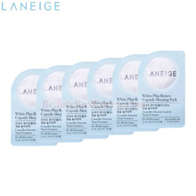 [mini] LANEIGE White Plus Renew Capsule Sleeping Pack 3ml*6ea, LANEIGE