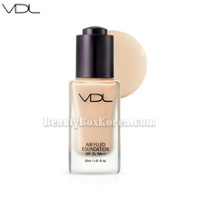 VDL Air Fluid Foundation Velvet SPF30 PA++ 30ml,Beauty Box Korea