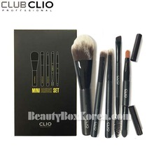 CLIO Mini Brush Set (5 brushes with a brush pouch)