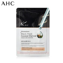 AHC Premium Black Mask Coconut Charcoal 28ml