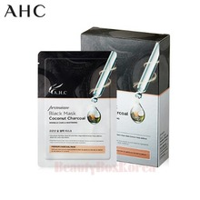AHC Premium Black Mask Coconut Charcoal 28ml*10ea