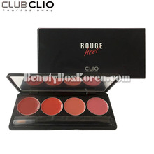 [mini] CLIO Rouge Heel Lip Palette 1g*4colors,Beauty Box Korea