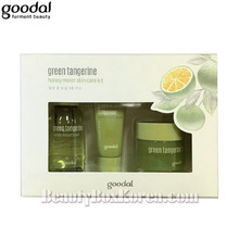 [mini] GOODAL Green Tangerine Honey Moist Skin Care kit 3items