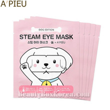 A'PIEU Steam Eye Mask 5ea [Dog Edition],Beauty Box Korea