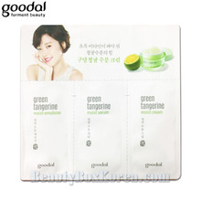 [mini] GOODAL Green Tangerine Honey Moist Skin Care (1ml+1ml+1ml)*5ea,GOODAL,Beauty Box Korea