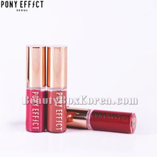 [mini] PONY EFFECT Favorite Fluid Lip Tint 2.3g,MEME BOX,Beauty Box Korea
