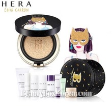 HERA Black Cushion SPF34 PA++ Special Set [Edith Carron Limited Edition],HERA,Beauty Box Korea