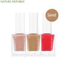 NATURE REPUBLIC Color&Nature Nail Color 8ml [Sand],NATURE REPUBLIC,Beauty Box Korea