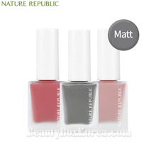 NATURE REPUBLIC Color&Nature Nail Color 8ml [Matte],NATURE REPUBLIC