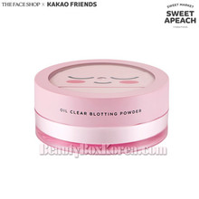THE FACE SHOP Oil Clear Blotting Powder 15g [The Face Shop x Kakao Friends -Sweet Apeach]