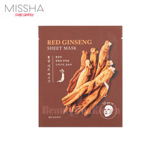 [mini] MISSHA Red Ginseng Sheet mask 23g, MISSHA