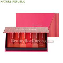 NATURE REPUBLIC Mini Lip Kit Matte Edition 1.3g*6ea (Online excl.)