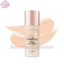 ETUDE HOUSE Double Lasting Serum Foundation Mini SPF25 PA++ 8ml,Beauty Box Korea