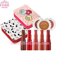 ETUDE HOUSE Mini Two Match 2.4g + Look At My Eyes 2g + Sliding Tin Case 1ea Set [Nuts & Fruits Collection] BeautyBoxKorea