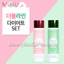 MINU Pink Line+Greem Line Set(Double Line Diet Set)78g+60g