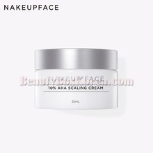 NAKEUP FACE 10% AHA Scaling Cream 30ml,NAKEUP FACE