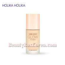 HOLIKA HOLIKA Hard Cover Glow Foundation SPF 20 PA++ 30ml,HOLIKAHOLIKA