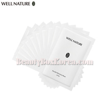 WELL NATURE Double Moisture Mask 2g*10ea,WELL NATURE