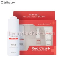 CELLAPY Red Cica All In One Ampoule S.O.S Kit 3items,CELLAPY