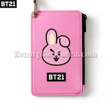 BT21 Strap Card Holder Cooky 1ea