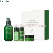 INNISFREE Green Tea Seed Serum Special Set 4items,INNISFREE