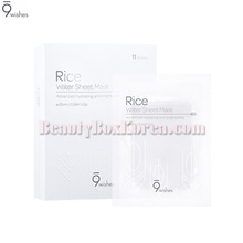 9WISHES Rice Water Sheet Mask 25ml*11ea,9WISHES