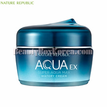 NATURE REPUBLIC Super Aqua Max EX Watery Cream 80ml,NATURE REPUBLIC