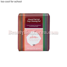 TOO COOL FOR SCHOOL Mineral Pink Salt Deep Cleansing Pad 30ea 190ml
