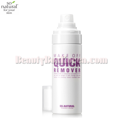 SO NATURAL Make Off Quick Remover 80ml,SO NATURAL