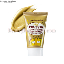 TOO COOL FOR SCHOOL Pumpkin Purifying 24k Mask 100ml,TOO COOL FOR SCHOOL
