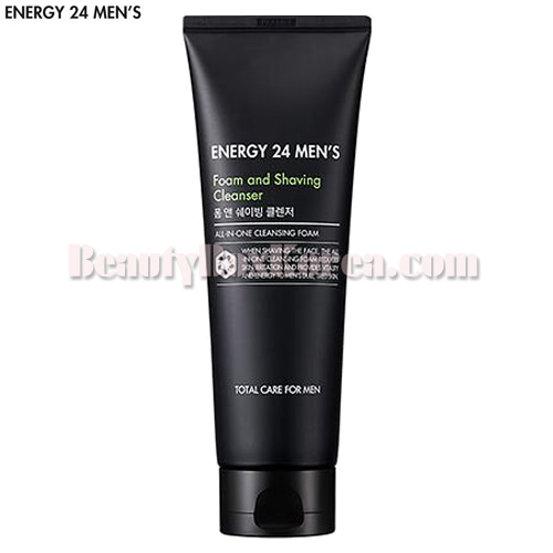 ENERGY 24 MEN'S Foam and Shaving Cleanser 150ml