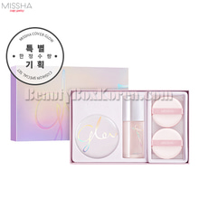 MISSHA Cover Glow Cushion Set 3items,MISSHA