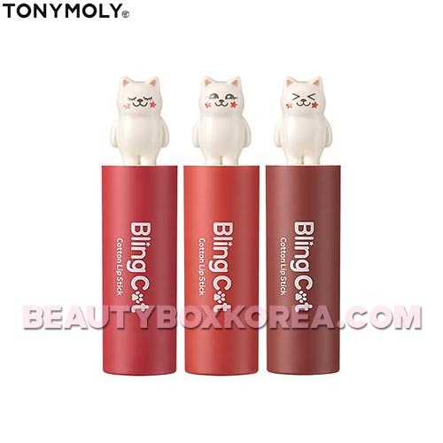 TONYMOLY Bling Cat Cotton Lip Stick  3.4g